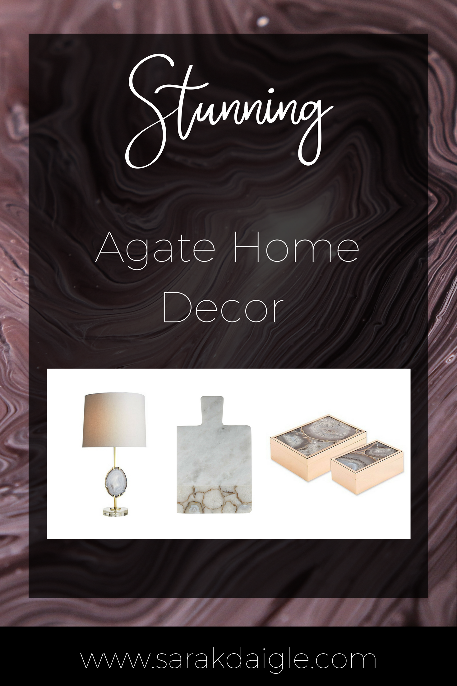 Stunning Agate Home Decor Ideas