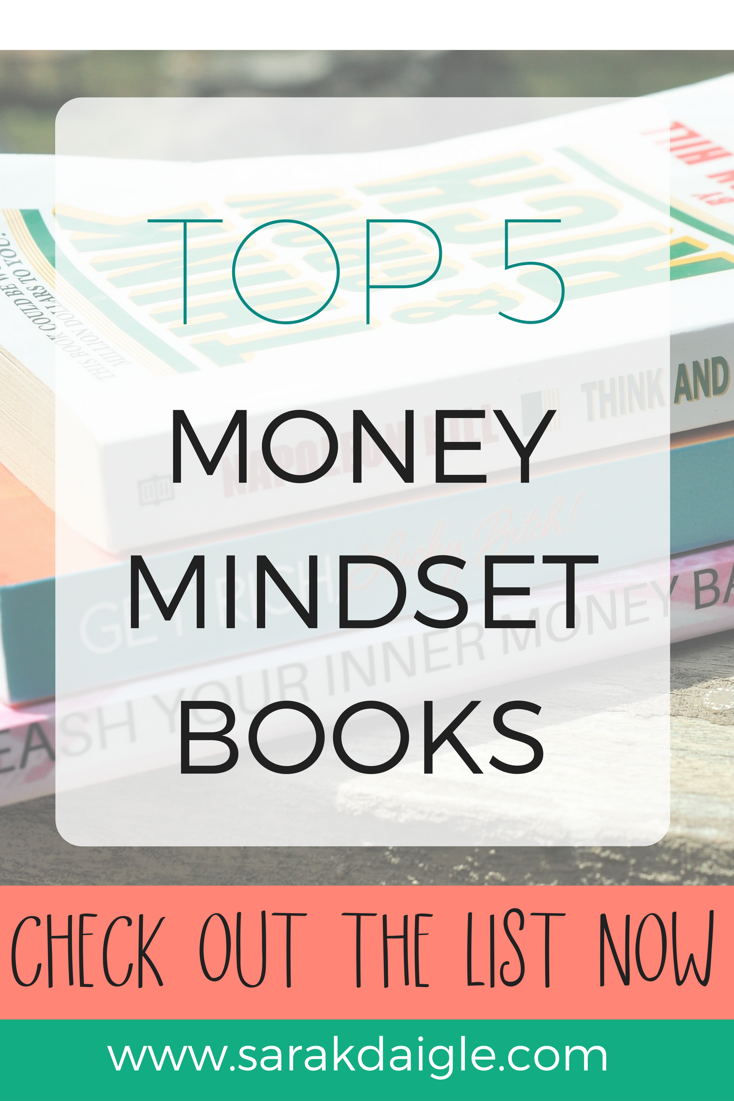 Top 5 Money Mindset Books