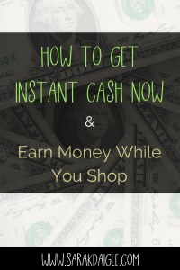 Rediscovering EBATES and More Ways To Get Instant Money