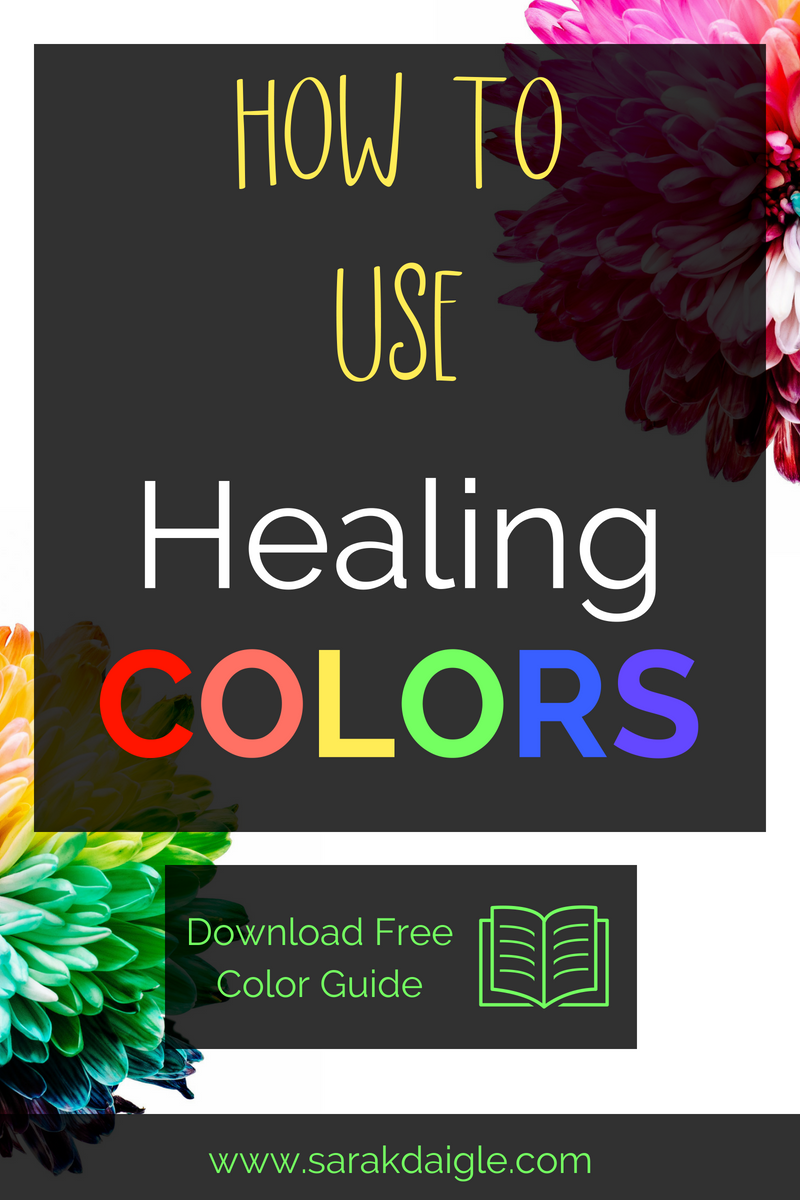 Using Healing Colors for therapy