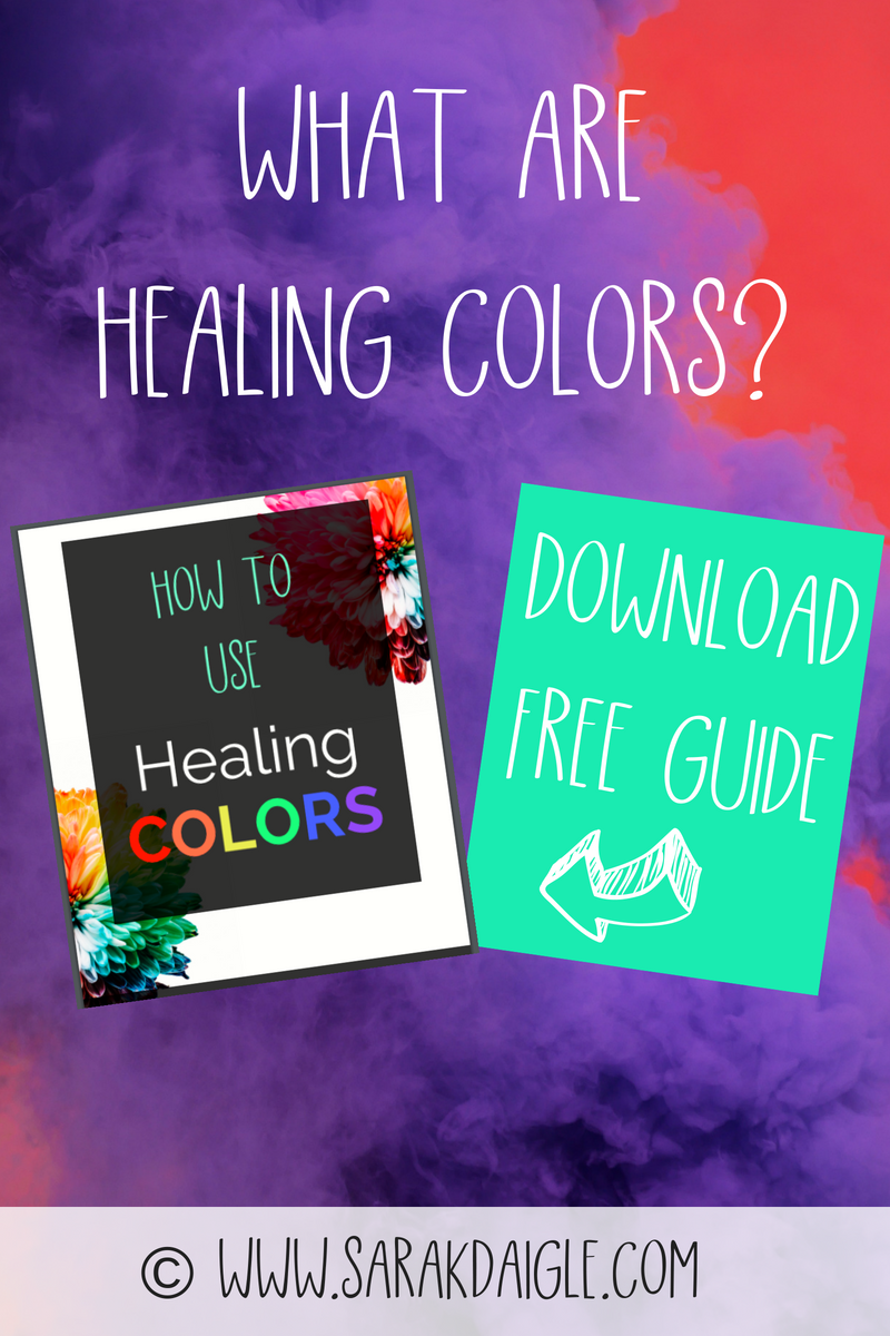 What are healing colors