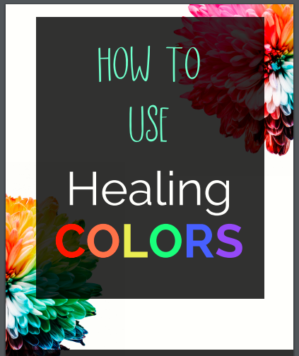 healing colors guide pic