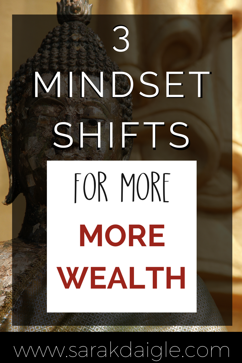 3 Mindset Shifts to Become Wealthy