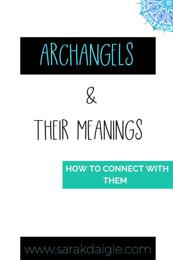 Find Archangel Meanings