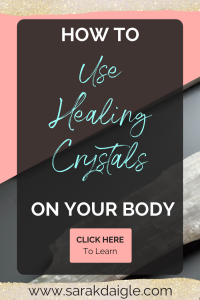 Using Healing Crystals and Stones