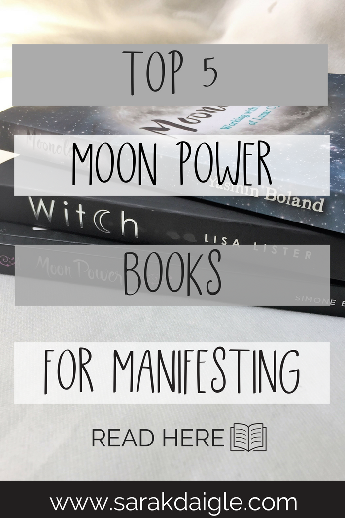 5 Books To Help You Manifest with the Moon Cycles