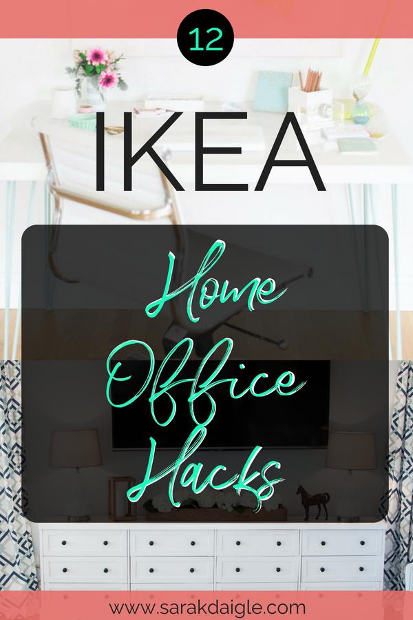 Stunning Ikea Home Office Hacks