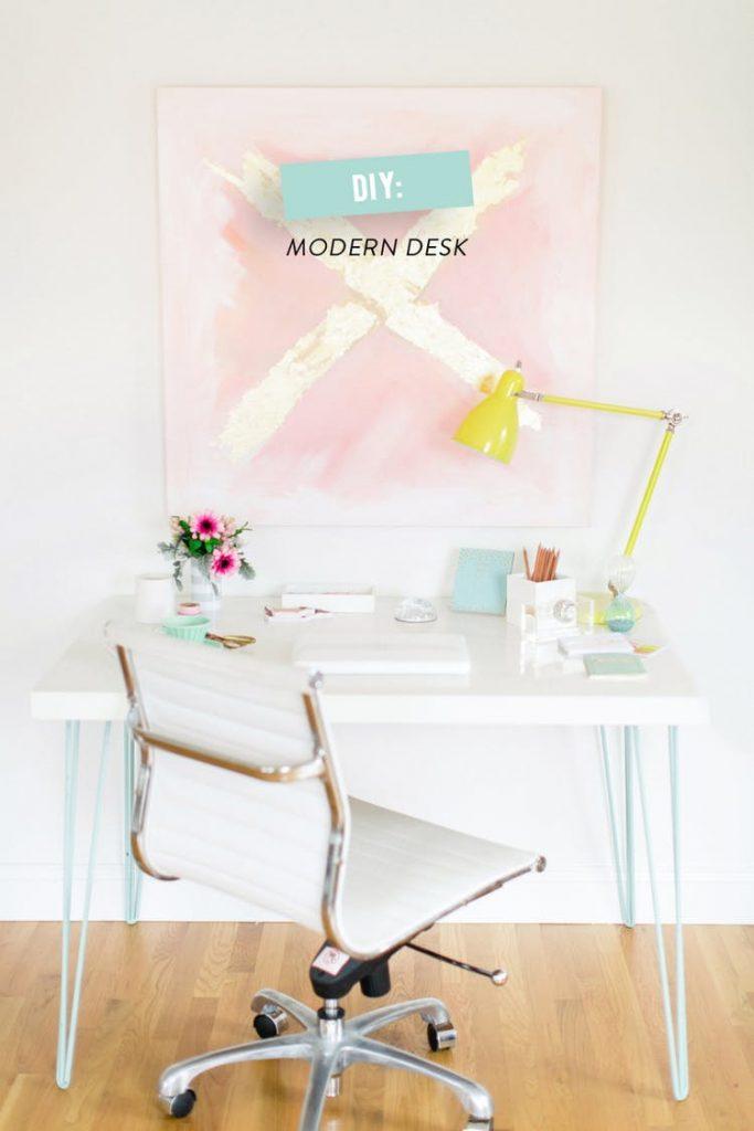Style Me Pretty Modern Desk