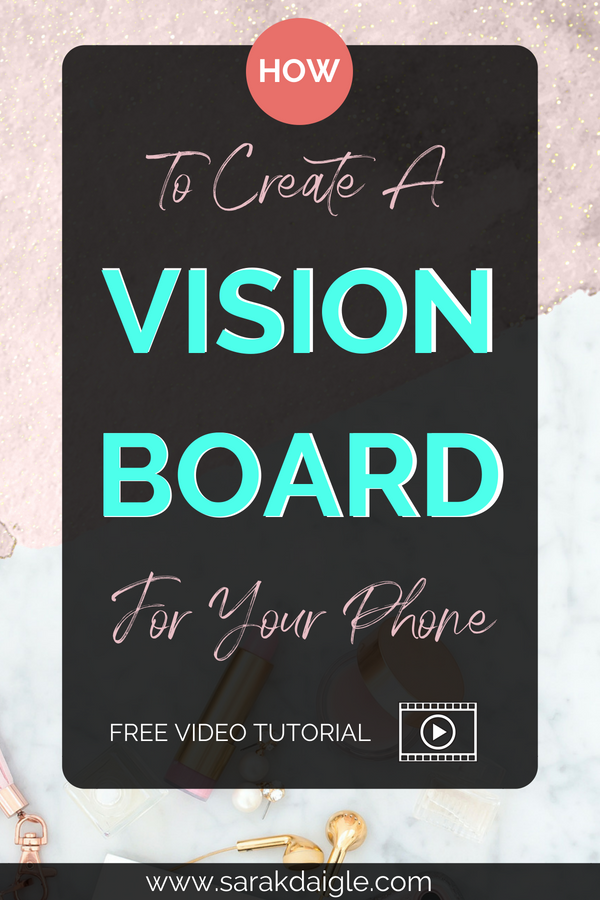 Digital Vision Board Law of Attraction